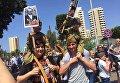 """Участники акции """"Бессмертный полк"""" в Бейруте"""