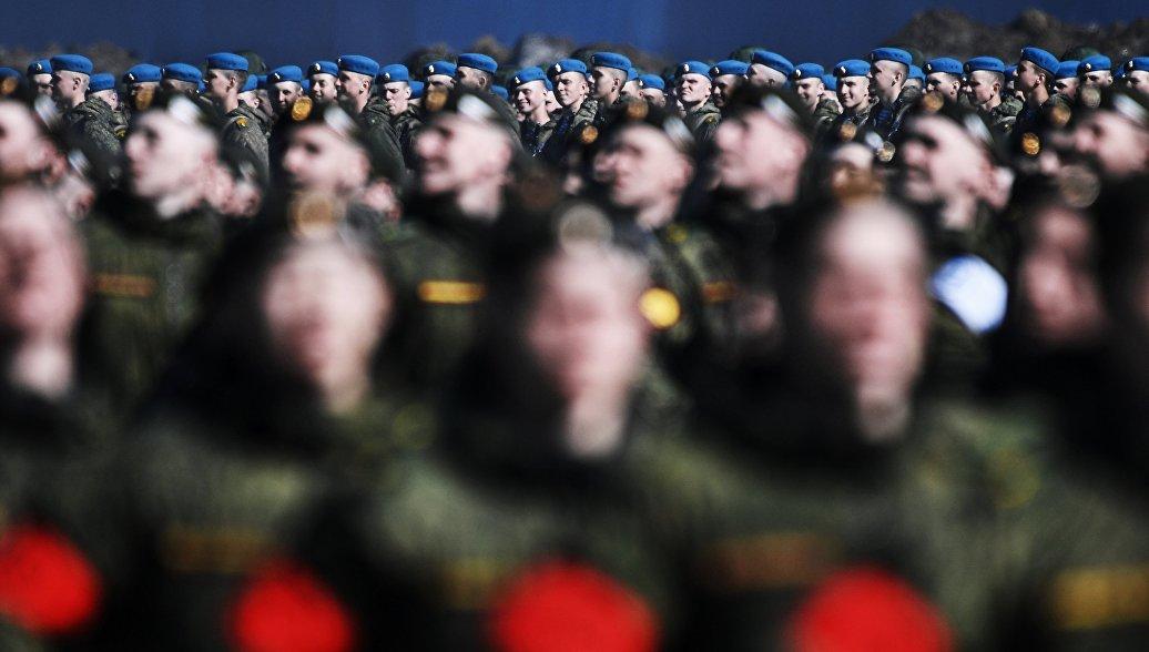 Репетиция парада Победы. Архивное фото