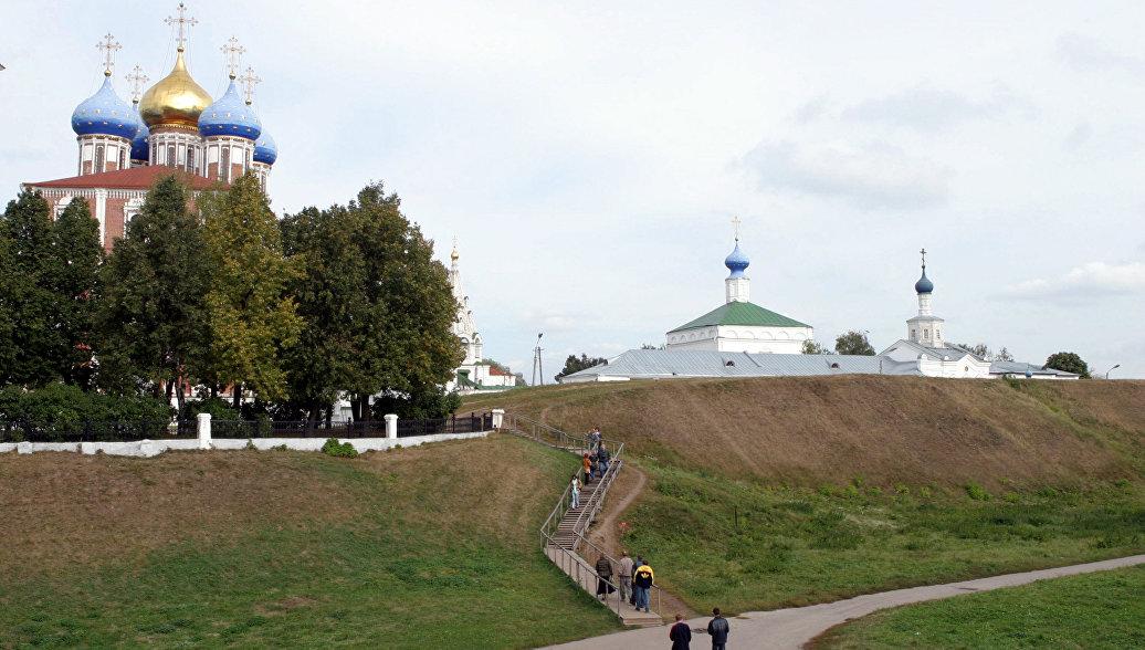 Города России. Рязань. Архивное фото