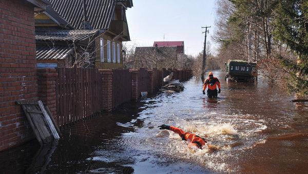 Остается подтопленным 31 дом в новосибирской области