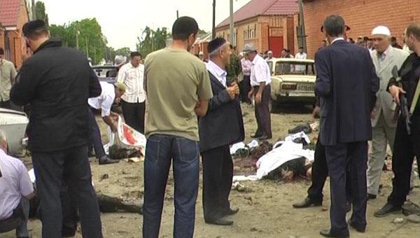 Следствие определило двух организаторов взрыва на похоронах полицейского в Ингушетии
