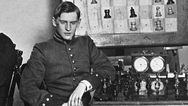 Русский шахматист А. А. Алехин