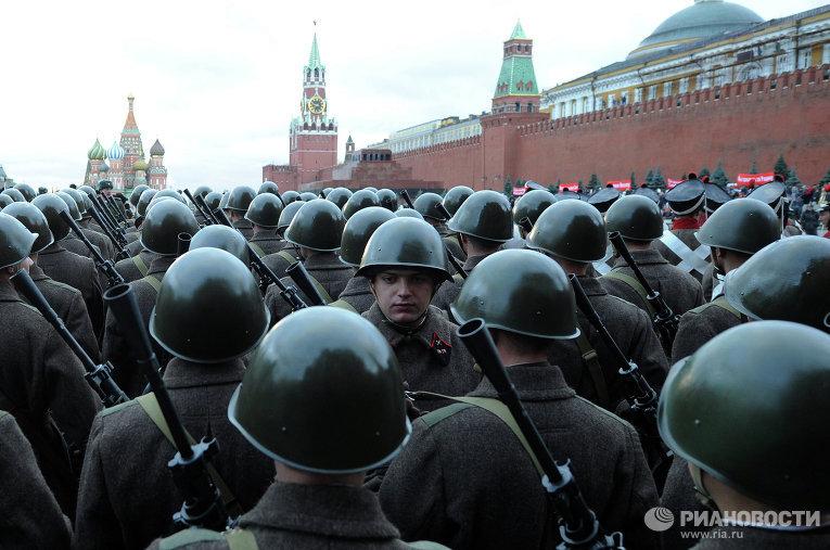 Шествие на Красной площади